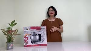 Máy nhồi bột, đánh kem, đánh trứng Unie M2 - đập hộp máy siêu đẹp, đa năng  - YouTube