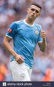 LONDON, ENGLAND - AUGUST 04: Phil Foden von Manchester City während der FA  Community Shield Match zwischen