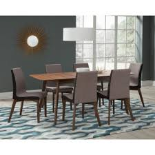 Redbridge Mid-Century Modern <b>Five</b>-<b>Piece Dining</b> Set | 106591-S5 ...