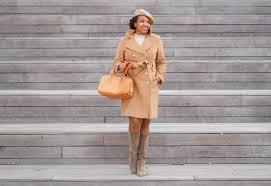 anne klein wool trench coat