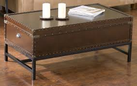 antique coffee table antique trunk coffee table