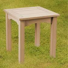 winawood wood effect side table teak