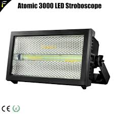 Atomic Security Light Us 966 4 20 Off 2unit Lot Creative Atomic 3000 Led Xenon Dmx Strobe Light Aura Backlight Rgb Strobe Wash Blinder Stage Lighting Equipment In Stage