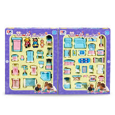 plastic dollhouse furniture sets. educational mini miniature furniture toys set roll play games toy dolls girls boys baby children dollhouse plastic sets