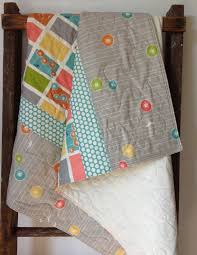 92 best Gender Neutral Baby Quilts...sew cute! images on Pinterest ... & Baby Quilt, Modern, Organic,Commute Dandi Blocks, Dandi Flight, Birch, Adamdwight.com
