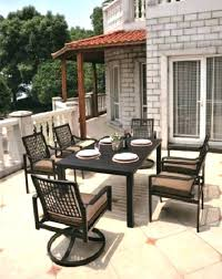 aluminum patio chairs. Aluminum Outdoor Dining Set Patio Cast  By Luxury Chairs