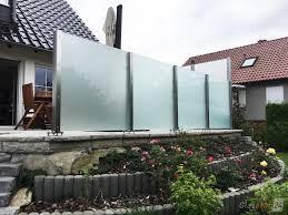 Windschutz F R Die Terrasse Glasprofi24