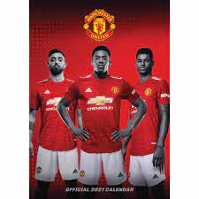 Manchester United FC A3 Calendar 2021 at Calendar Club
