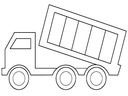 Small Picture Printable Dump Truck Coloring Pages Coloring Me