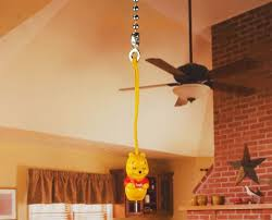 details about disney winnie the pooh ceiling fan pull light l chain decoration k1208 c
