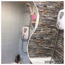 DIY fan transforms her dull bathroom ...