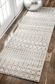 nuloom moroccan blythe runner rug 2 8 x 8 grey