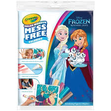 Crayola Color Wonder Mess Free Coloring Pad Markers Frozen