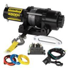 champion synthetic rope winch kit, 4,500 lbs canadian tire Champion Power Winch at Champion 3000 Lb Winch Wiring Diagram