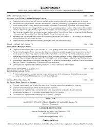 Loan Officer Resume Examples Loan Officer Resume Sample Mortgage