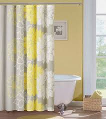 furniture fascinating yellow grey shower curtain 28 pics photos bathroom elegant soft neutral 95201 yellow gray