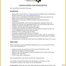 Private Chef Resume Sample Best Of Template Free Cook Image