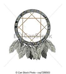 Native Dream Catchers Drawings We see illustration of a native american dreamcatcher drawings 43