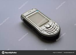 Nokia 6630 White Background — Stock ...