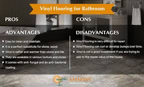 pros and cons of vinyl flooring for bathroom