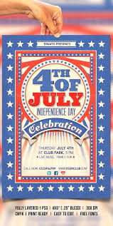 Free 4th Of July Flyer Templates Alimie Co