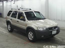 2003 Ford Escape Gold for sale | Stock No. 35437 | Japanese Used ...
