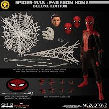 Mezco Toyz One:12 Collective Spider-Man: Far From Home Deluxe Edition |  Spiderman, Marvel spiderman, Hot toys