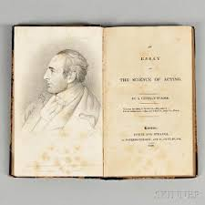 search all lots skinner auctioneers grant george fl circa 1820 an essay on the science of acting