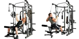 marcy home gym lb system fitness workout program
