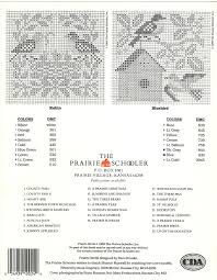 Book No24prairie Birds55 Prairie Schooler 図案 ステッチ