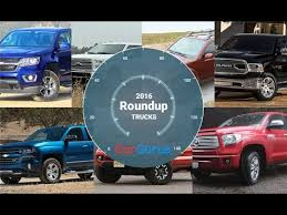Best Trucks 2016 | CarGurus Truck Roundup - YouTube
