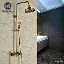 tub spout with handheld shower wall mount 3 functions adjust height shower faucet set with tub spout handheld shower antique tub faucet with handheld shower