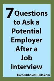 Best Questions To Ask After An Interview 309 Best Goodwill Job Seeker Tips Images Goodwill Jobs
