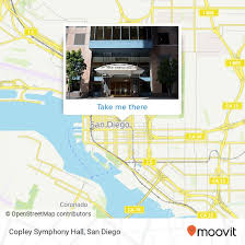 How To Get To Copley Symphony Hall In San Diego By Bus