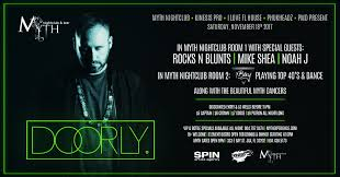 Myth Live Seating Chart Doorly Live At Myth Nightclub Saturday 11 18 17 Myth