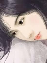 Image result for tranh thiếu nữ đẹp