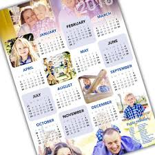 Photo Calander A2 Personalised Wall Calendar