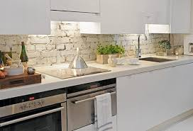 Kitchen Vintage Kitchen Backsplash White Brick Backsplash Home