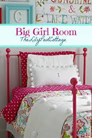 big girl bedroom reveal finally