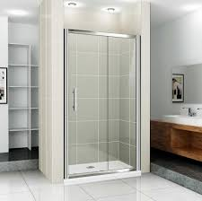 best sliding shower door design for small shower room