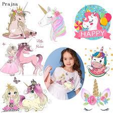 <b>Prajna</b> Princess and Unicorn Thermal <b>Transfer</b> Printing Pink Dress ...