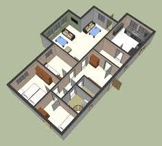 google sketchup ground floor plan 1 ground floor plan 1