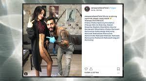 über Das Tattoo Dieses Instagram Stars Lacht Das Netz Neon