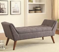 Padded Benches Living Room Furniture Accessories Diy Bedroom Bench With Tufted Seat
