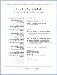 Free Resume Builder Template Download Free Resume Builder Template
