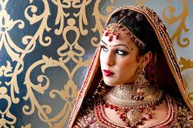 bridal makeup view image