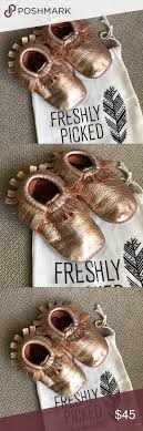 Freshly Picked Moccasins Size Chart Rose Gold Freshly Picked Moccasins Size 4 Fp Rose Gold