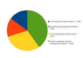 Cbt Pie Chart What Makes Therapy Work Luke Barbour Counselling