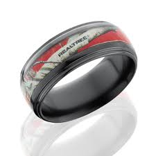 realtree camo wedding bands for men