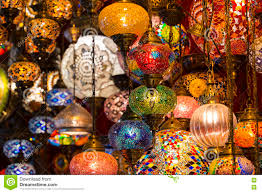 oriental lighting. Traditional Asian Lanterns Of Colored Glass On The Market Oriental Lighting H